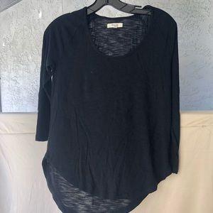 Black Madewell Long Sleeve Shirt